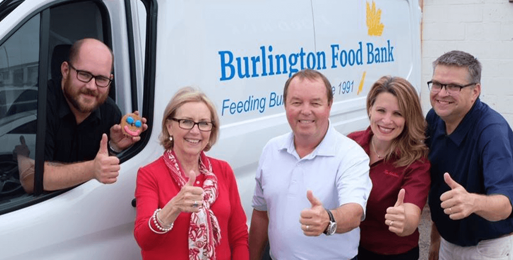 Burlington Food Bank and GR Partnership