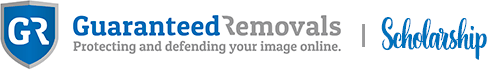 Guaranteed Removals Scholarship Logo